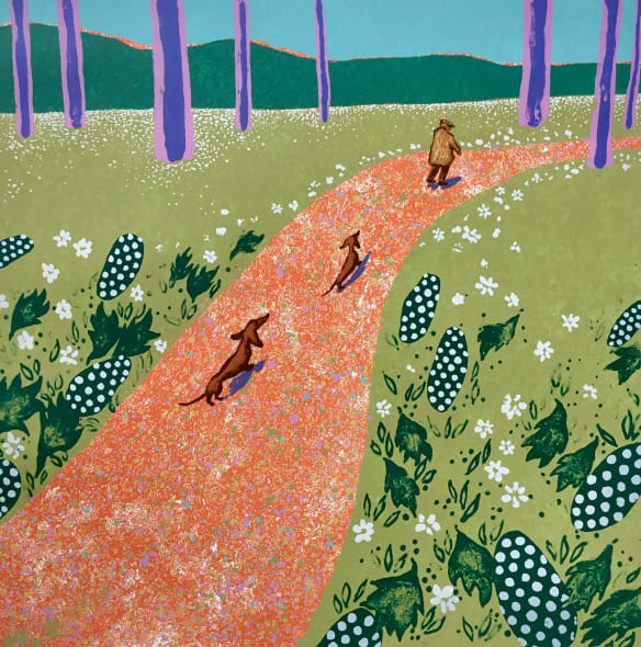 Hockney's Dogs