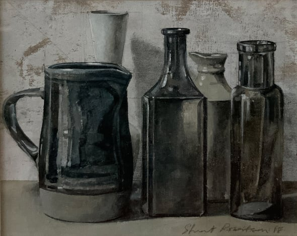Still Life with Brown Jug