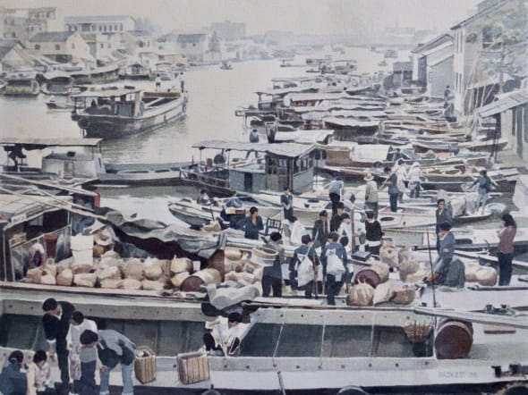 Doing Deals in a Floating Market, Suzhou