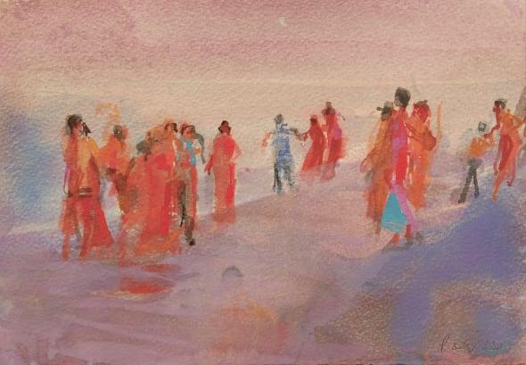 Mamallapuram Beach (iii)