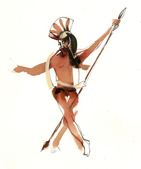 Dancing Roman
