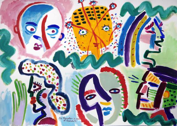 Six Characters in Search of Pirandello