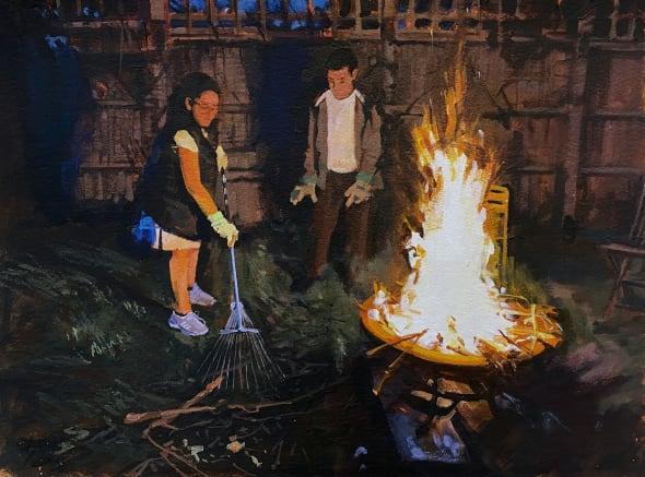 Lockdown Bonfire (23.4.20) IV
