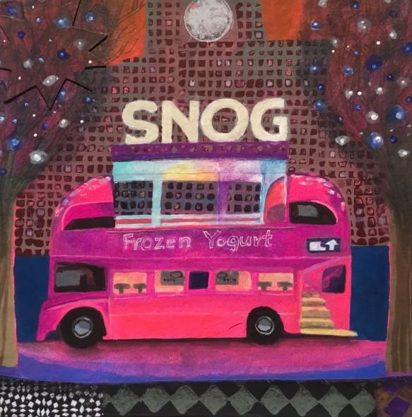 Yoghurt Bus on the Southbank