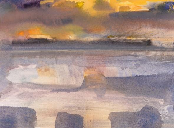 Nightfall, Hebrides