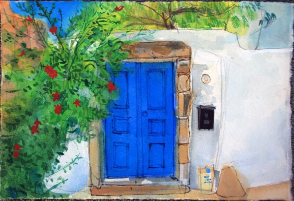 The Blue Door, Crete