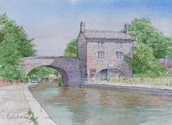 Hartshill Bridge Cottage, and Cottage
