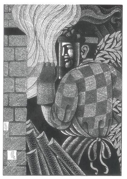 John Firing the Kiln