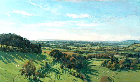 The Weald From Farthing Corner