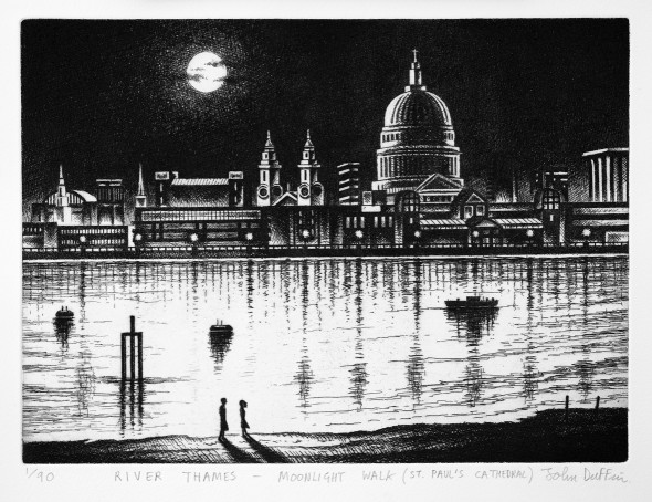River Thames - St Paul's Cathedral
