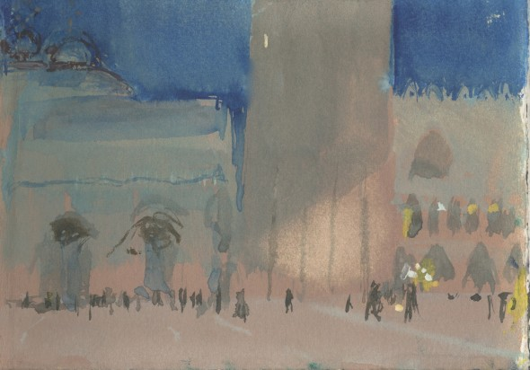 St Mark's Square, Evening (ii)