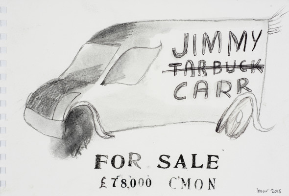 Jim Moir, Jimmy Carr, 2015