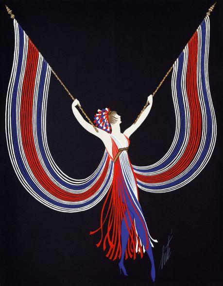 Romain de Tirtoff dit Erté, Dancer's costume, 1967