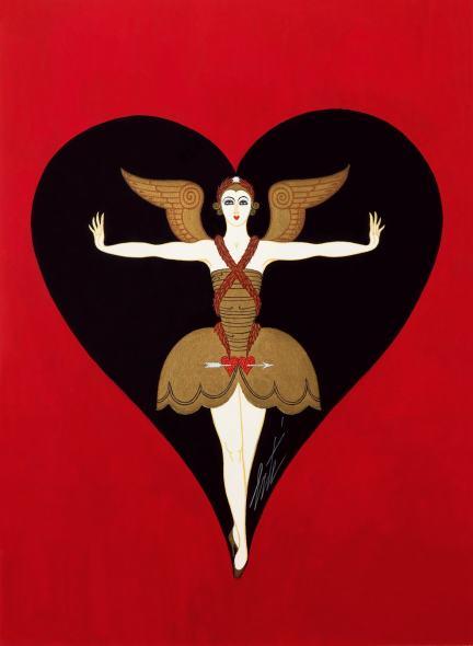 Romain de Tirtoff dit Erté, Costume design for Manhattan Mary, 1927