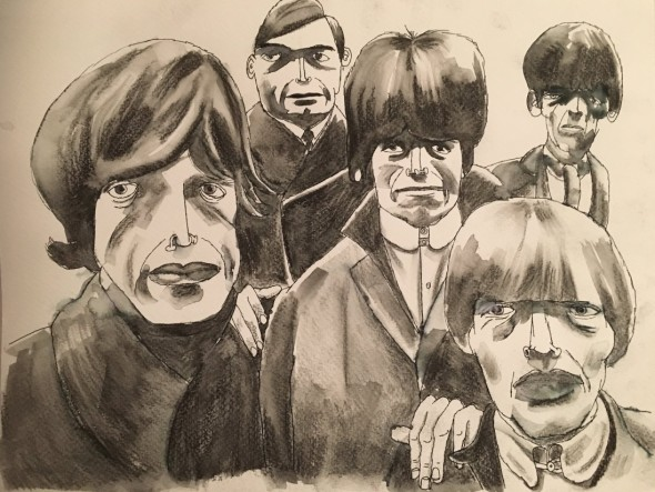 Jim Moir, The Rolling Stones, 2017