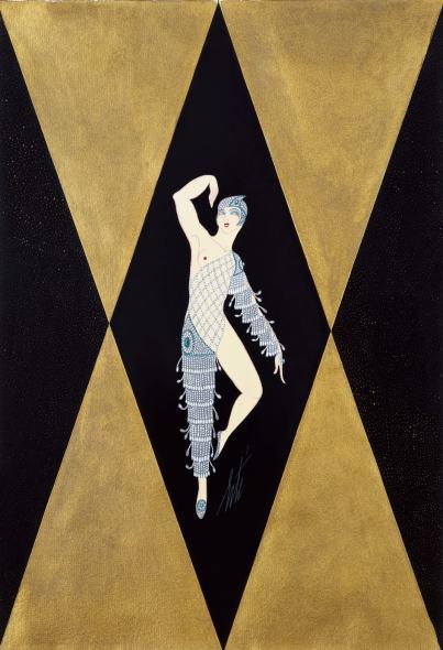 Romain de Tirtoff dit Erté, Diamond costume for Marriages, 1927