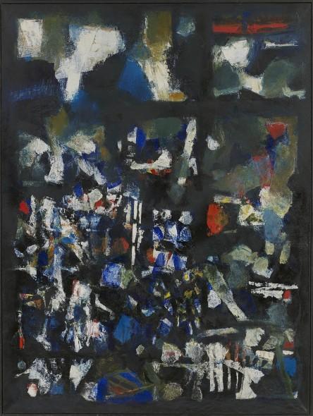 Sayed Haider Raza, Les Lumieres de la Ville (The Lights of the City), 1963