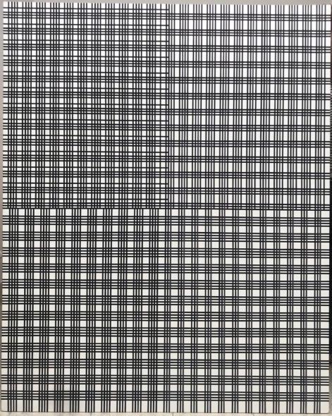 Mohammad Ali Talpur b. 1976Untitled, 2019 Acrylic on canvas 152.4 x 121.9 cm 60 x 48 in