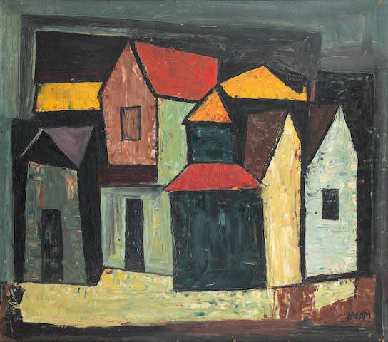 Ali Imam, Untitled (Deserted Town) , c.1956