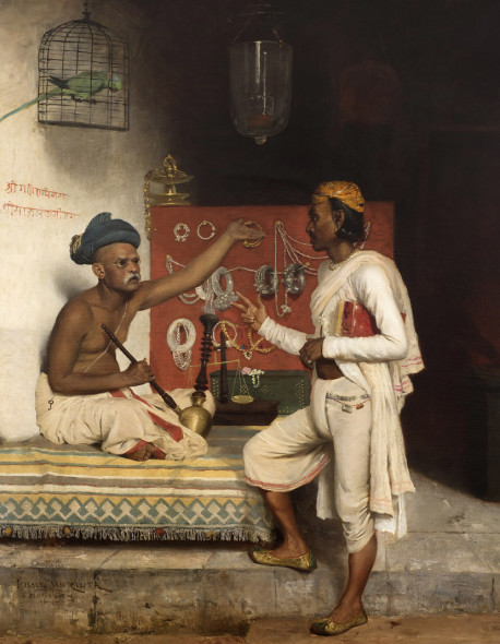 Horace Van Ruith, Jewellery Seller in Bombay, circa 1880