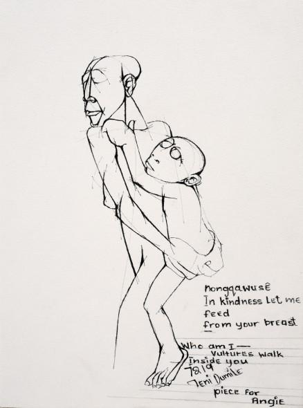 Dumile Feni, Piece for Angie..., 1972