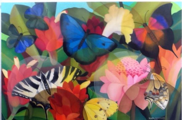 Senaka Senanayake, Butterflies, 2014
