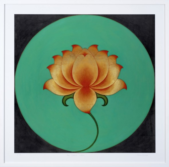 Olivia Fraser, The Golden Lotus, 2018
