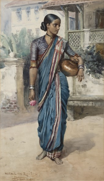 Horace Van Ruith, Village Girl, circa 1880