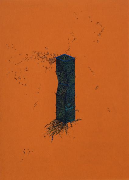Wardha Shabbir b. 1987Of a Genre, 2019 Gouache on paper 29.7 x 21 cm 11 3/4 x 8 1/4 in
