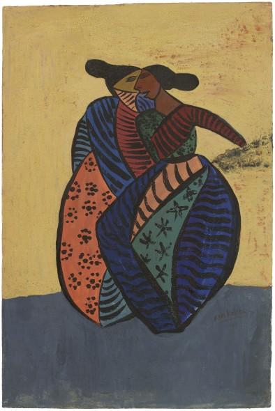 Ram Kumar, The Twins, 1949