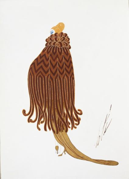 Romain de Tirtoff dit Erté, Mink Cape, 1921