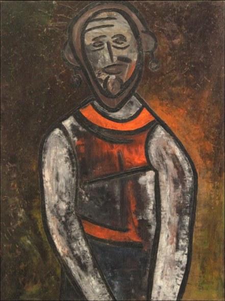 Lancelot Ribeiro, The Clown, c. 1961