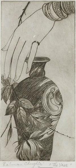 Abdur Rahman Chughtai, The Vase