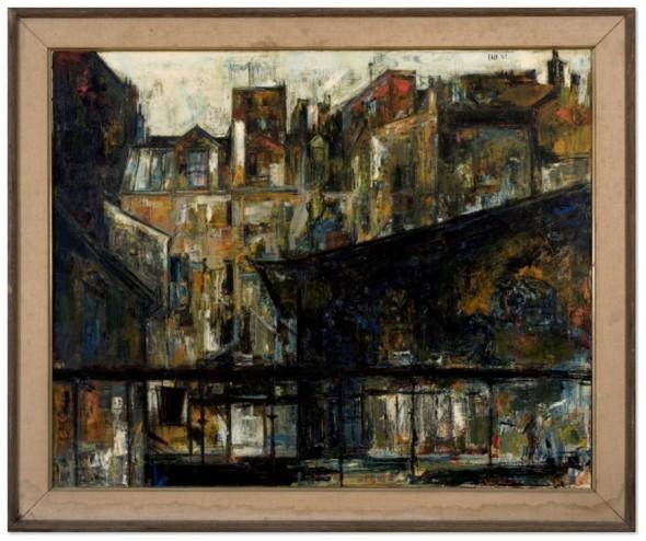 Sayed Haider Raza, Maisons St. Jacques, 1957
