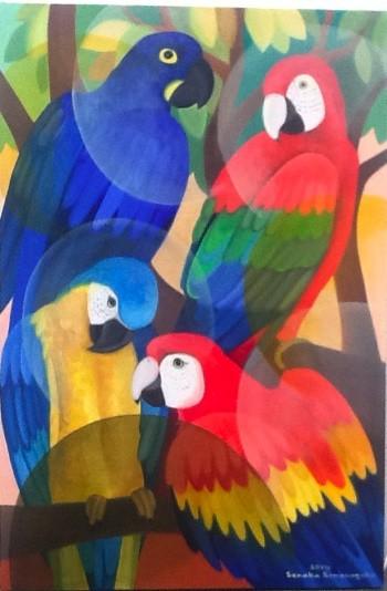 Senaka Senanayake, Macaws, 2014
