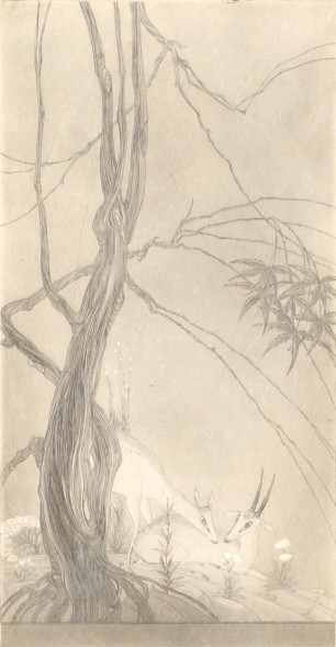 Abdur Rahman Chughtai, Evensong, c.1967
