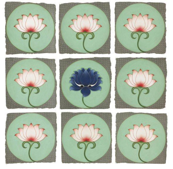 Olivia Fraser, The Blue Lotus, 2012