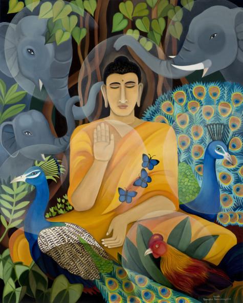 Senaka Senanayake, Buddha, 2017