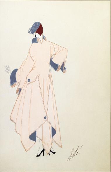 Romain de Tirtoff dit Erté, Coat for Henri Bendel, 1915