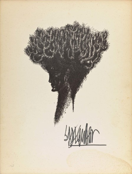 Syed Sadequain, Head V, c.1966