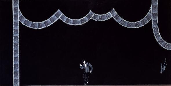 Romain de Tirtoff dit Erté, Stage set, Ragtime (From Stravinsky to Gershwin), 1975