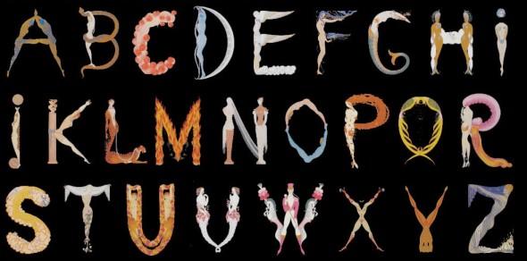Romain de Tirtoff dit Erté, Alphabet, 1927-1967