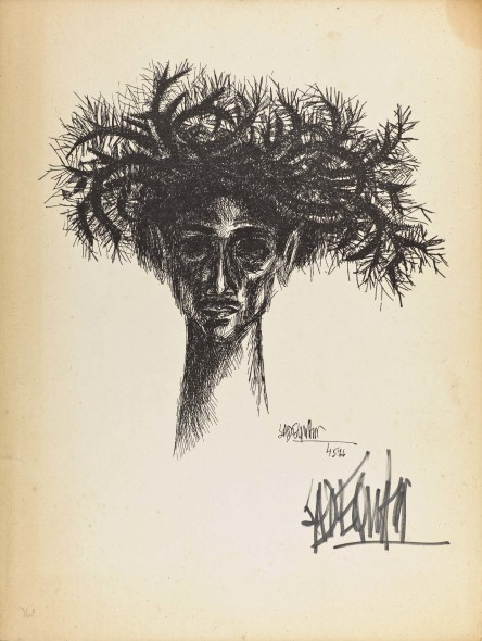 Syed Sadequain, Head VI, c.1966