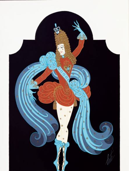 Romain de Tirtoff dit Erté, Costume for the Prince Charming in The Sleeping Beauty, 1922