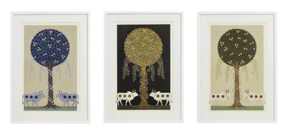 Olivia Fraser, Krishna I, II and III , 2010