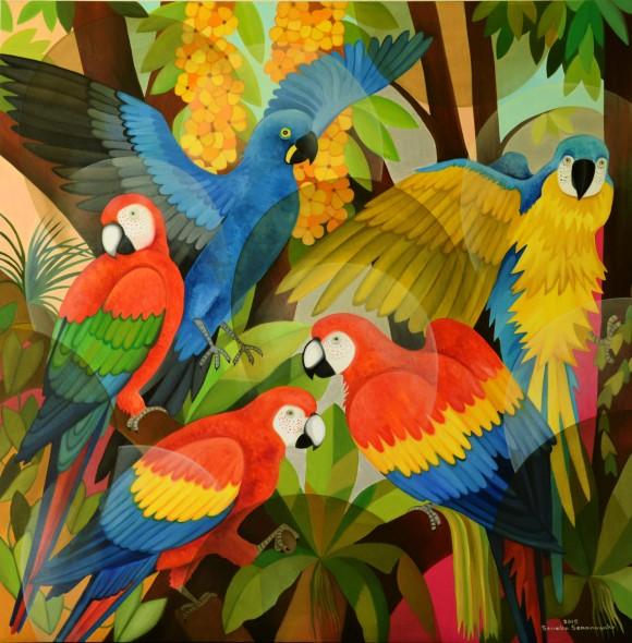 Senaka Senanayake, Macaws, 2015