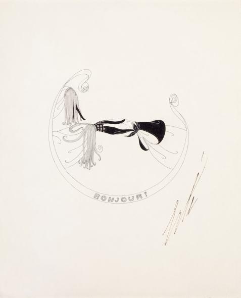 Romain de Tirtoff dit Erté, Gloves, 1922