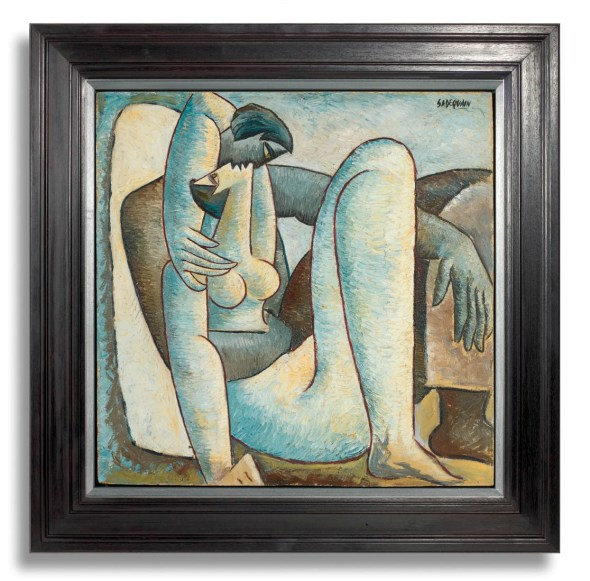 Couple in an Embrace, c.1958