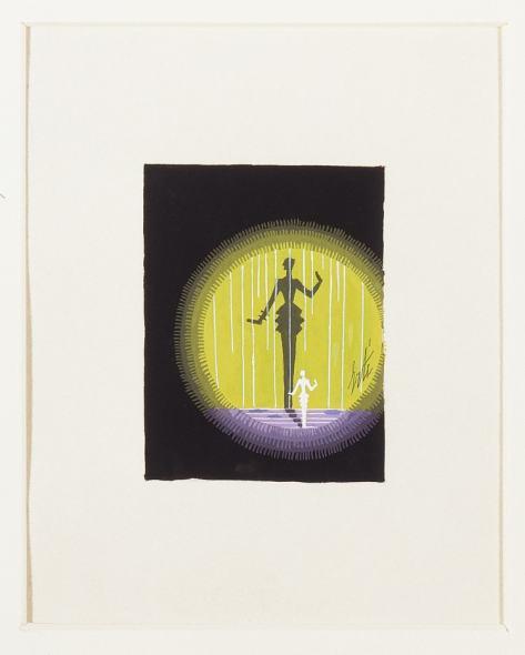 Romain de Tirtoff dit Erté, Maquette for Harper's Bazaar covers, 1936