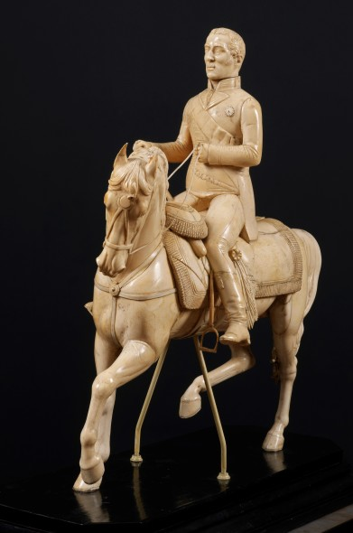 The Duke of Wellington on horseback